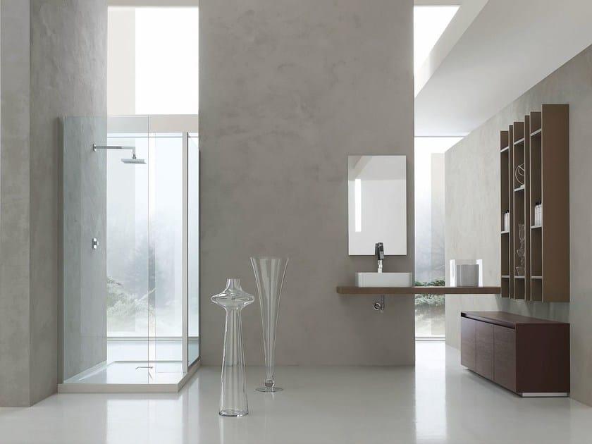 Sistema bagno componibile ESCAPE - COMPOSIZIONE 19 by Arcom