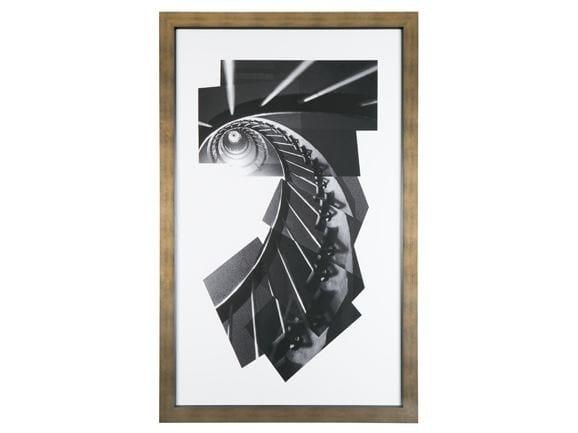 Print on paper ESCARGOT by Hamilton Conte Paris