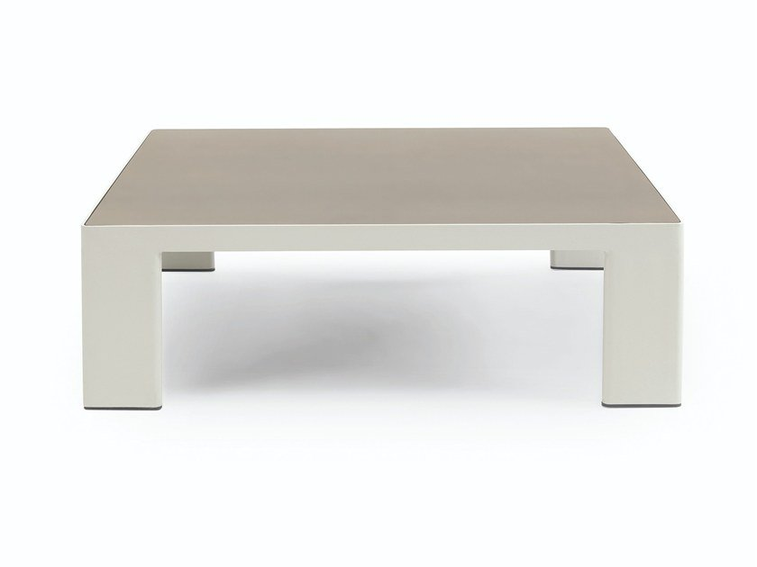 Low Ceramic slate garden side table ESEDRA | Ceramic slate coffee table by Ethimo