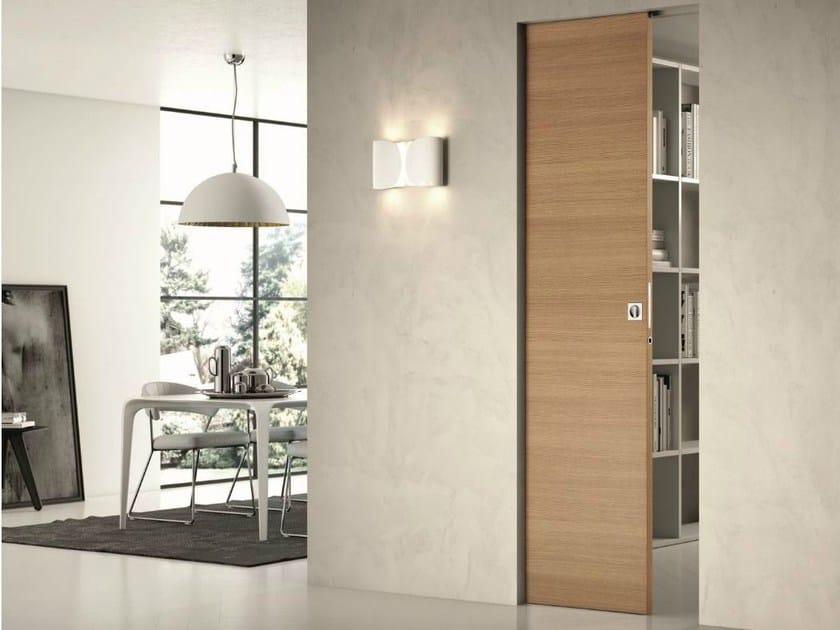Pocket sliding door without frame COMFORT | Door without frame by SCRIGNO