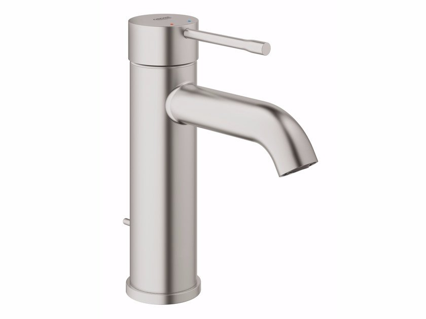 Countertop washbasin mixer with pop up waste ESSENCE NEW - SIZE S | Washbasin mixer with pop up waste by Grohe