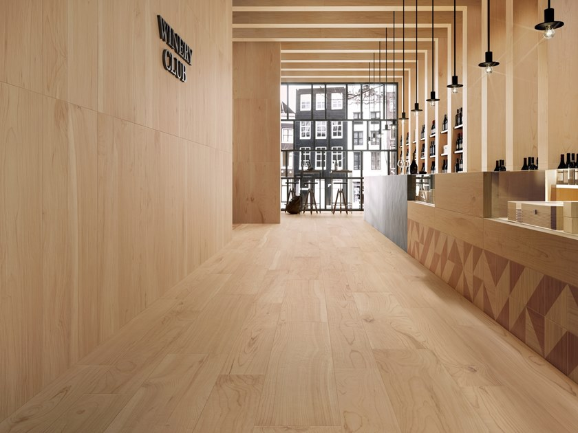 Porcelain stoneware wall/floor tiles with wood effect ESSENCES EXTRA CEDAR by Marca Corona