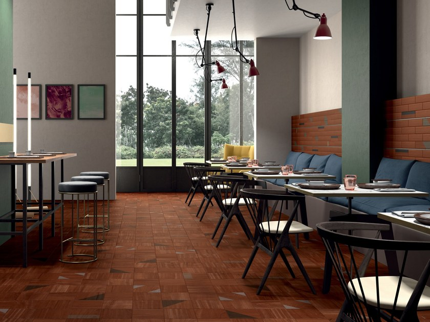 Porcelain stoneware wall/floor tiles with wood effect ESSENCES ...