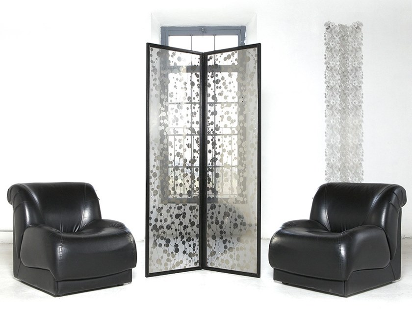 Stainless steel room divider ESSENTIAL by Caino Design
