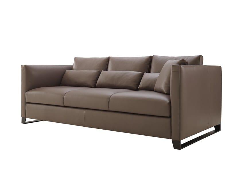 Leather sofa ESTEINNE by Ligne Roset