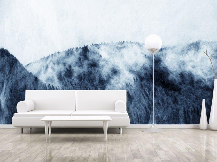 Adhesive panoramic landscape wallpaper ESTOMPE by MYFRESKO
