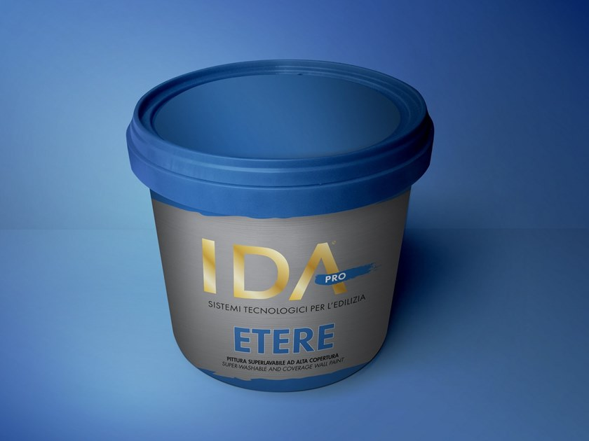 Washable water-based paint ETERE by IDA