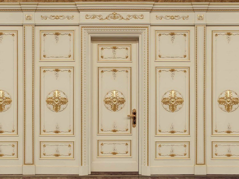 Hinged lacquered door ETERNITY by Arnaboldi Interiors
