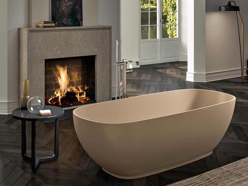 Vasca da bagno centro stanza ovale ETHOS F by Albatros