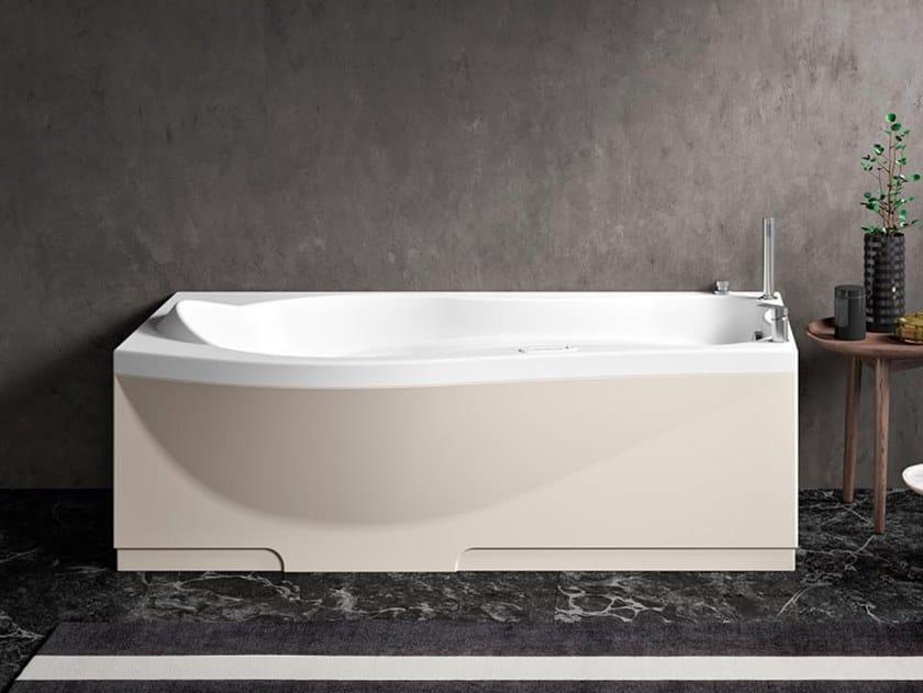 Vasca da bagno con seduta idromassaggio rettangolare ETHOS 170 by Albatros