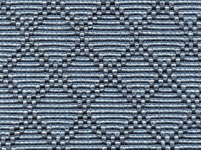 Jacquard upholstery fabric with graphic pattern ETOILE DES SABLE by Élitis