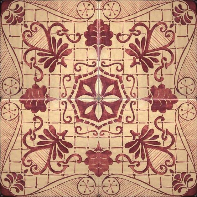 Pavimento/rivestimento ETOILE RED by BLEU PROVENCE