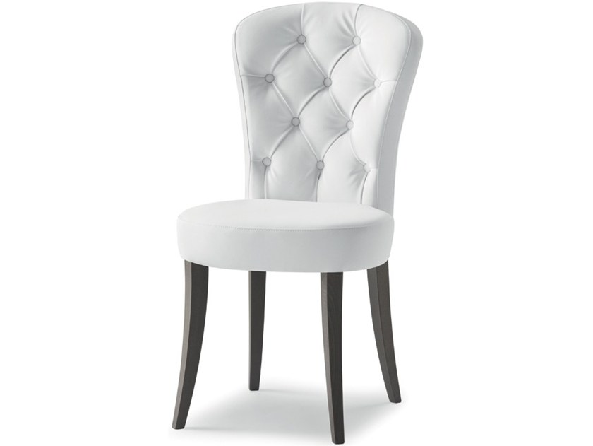Tufted upholstered chair EUFORIA 00111K by Montbel