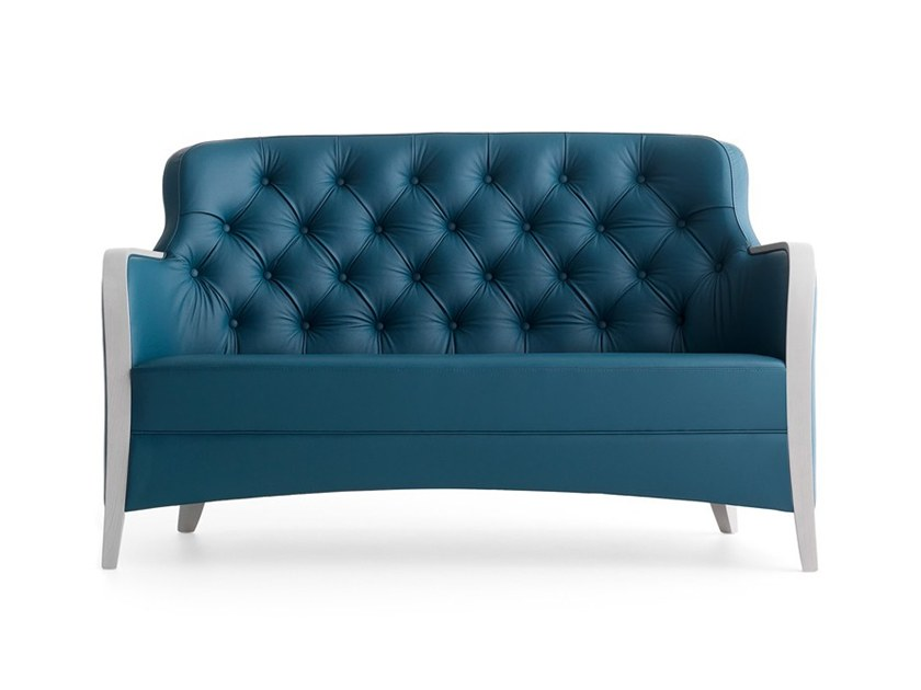 Tufted 2 seater sofa EUFORIA 00152K by Montbel