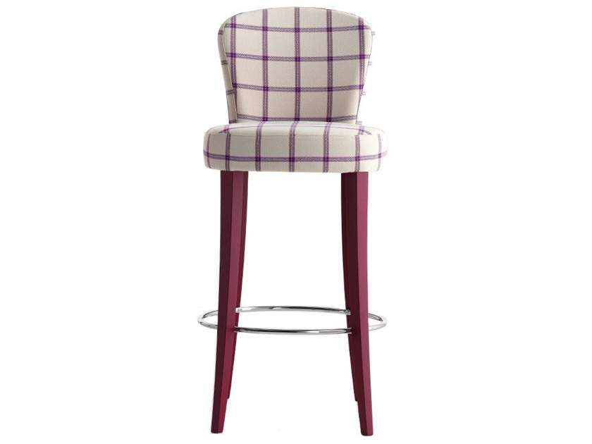 High upholstered stool EUFORIA 00181 by Montbel