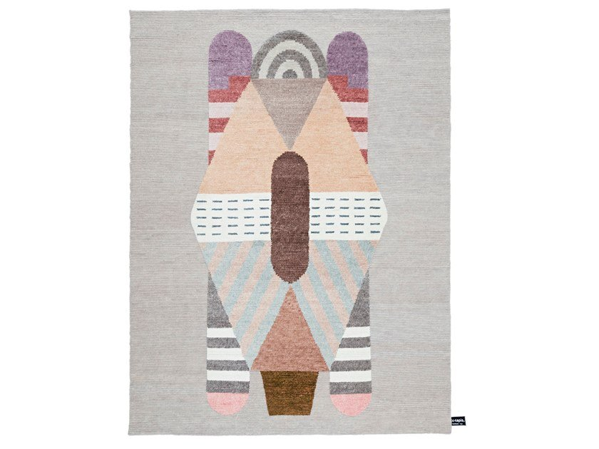 Handmade rug with geometric shapes EULERO | Rug by cc-tapis