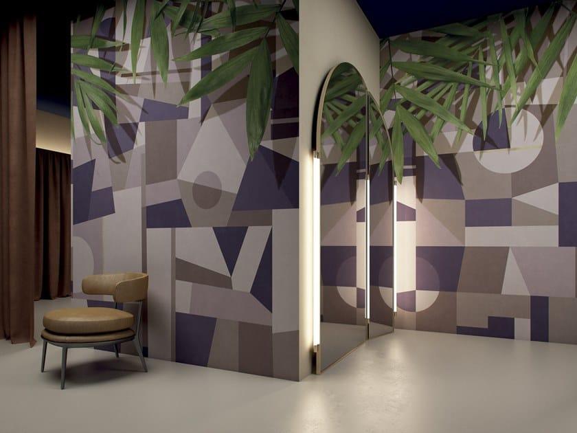 Geometric wallpaper EUPHORIA by GLAMORA