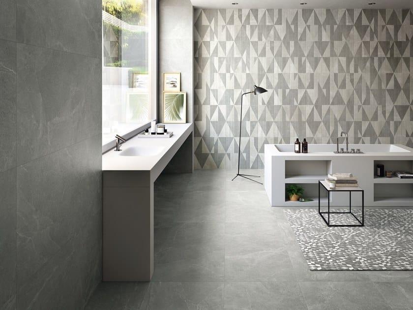 Porcelain stoneware wall/floor tiles EUREKA GRIGIO by Provenza by Emilgroup