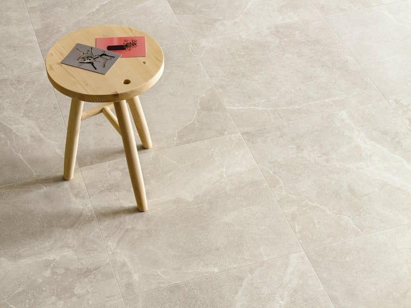 Porcelain stoneware wall/floor tiles EUREKA SABBIA by Provenza by Emilgroup