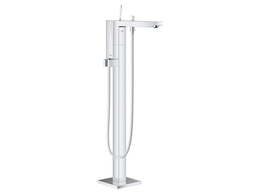 Floor standing bathtub mixer EUROCUBE JOY 23667001 | Floor standing bathtub tap by Grohe