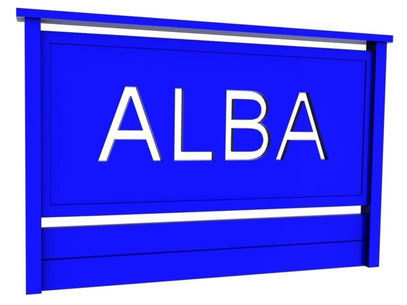 Parapetto in alluminio EUROPA by ALBA