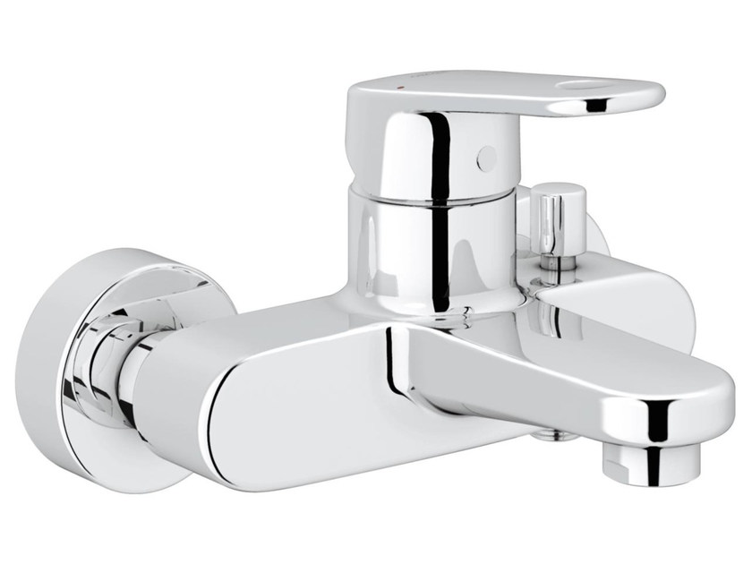 Single handle bathtub/shower mixer with diverter EUROPLUS C | 2 hole bathtub mixer by Grohe
