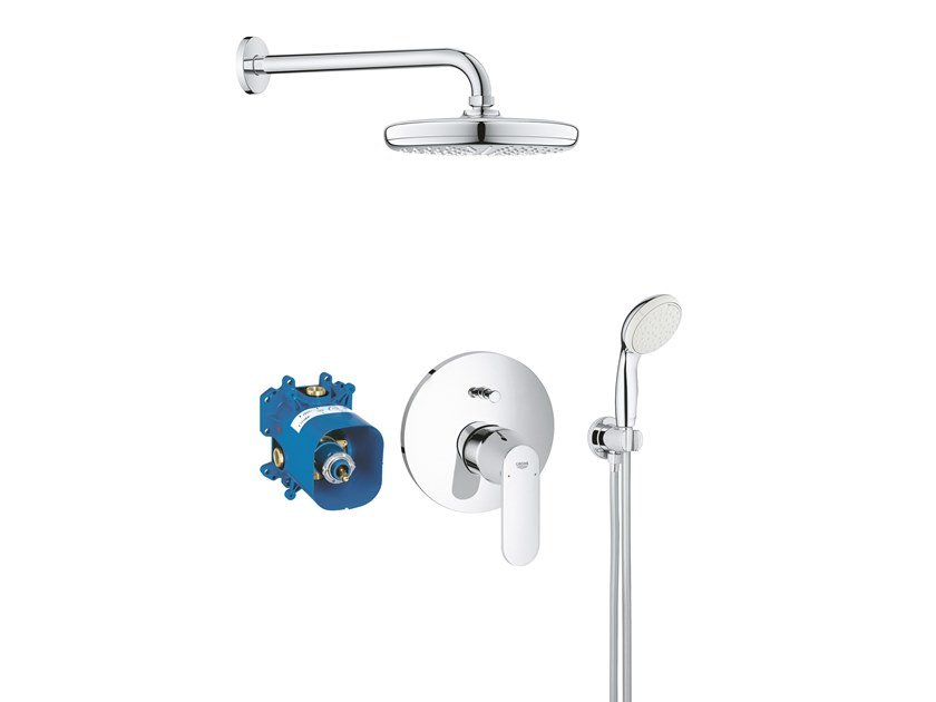 Recessed shower mixer with plate EUROSMART COSMOPOLITAN 25183001 | Shower mixer by Grohe