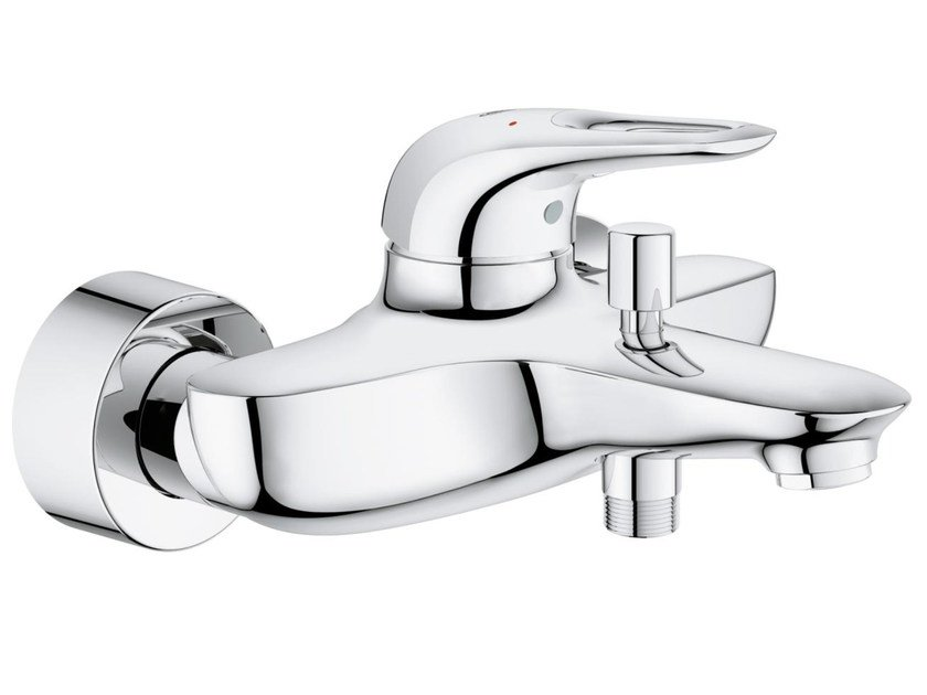 2 hole single handle bathub/shower mixer with diverter EUROSTYLE | Bathtub mixer by Grohe