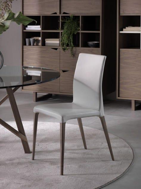 Fabric chair EVA by Pacini & Cappellini