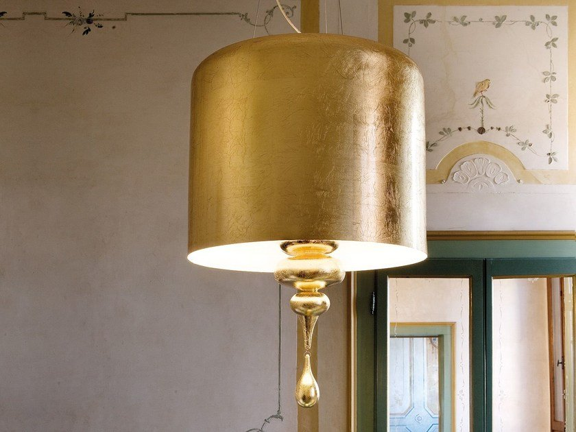 Lampada a sospensione a luce diretta in poliuretano EVA | Lampada a sospensione by Masiero