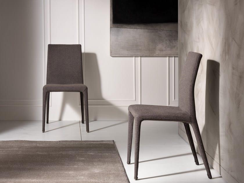 Fabric chair EVA.T by Pacini & Cappellini