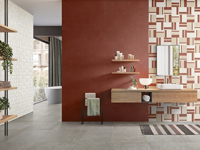 Indoor white-paste wall tiles EVEN by Panaria Ceramica