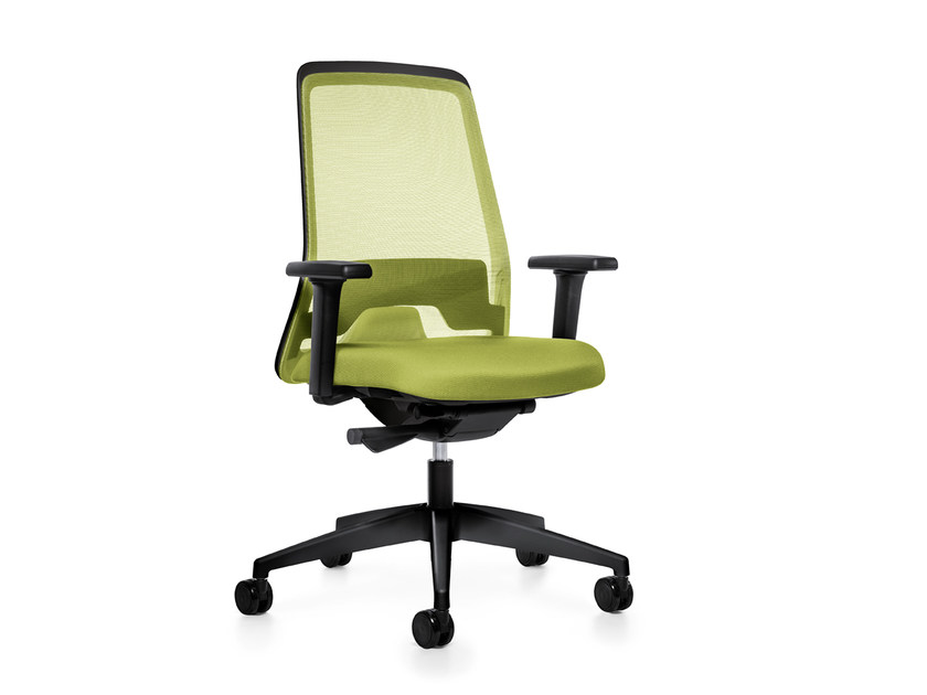 Ergonomic swivel mesh task chair EVERY IS1 172/182E by Interstuhl
