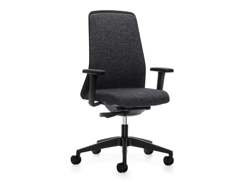 Ergonomic swivel task chair EVERY IS1 176E by Interstuhl