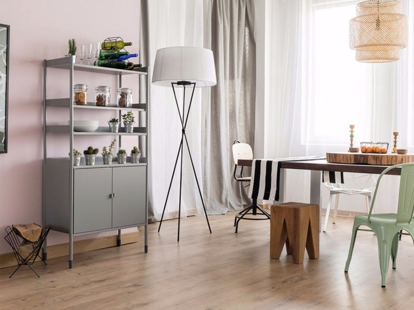 Resilient flooring with wood effect EVOLUTION ZERO FLEX