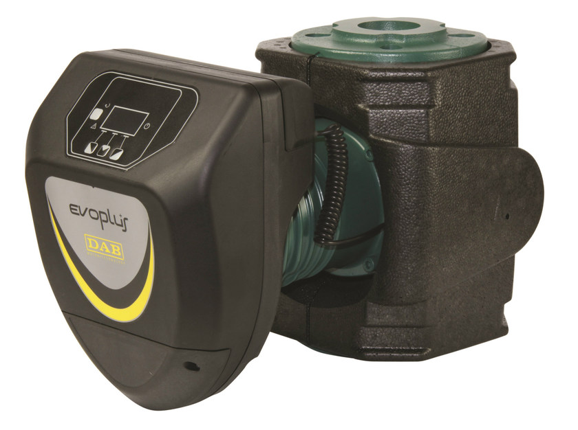 Circulator for heating and air-conditioning systems EVOPLUS by Dab Pumps
