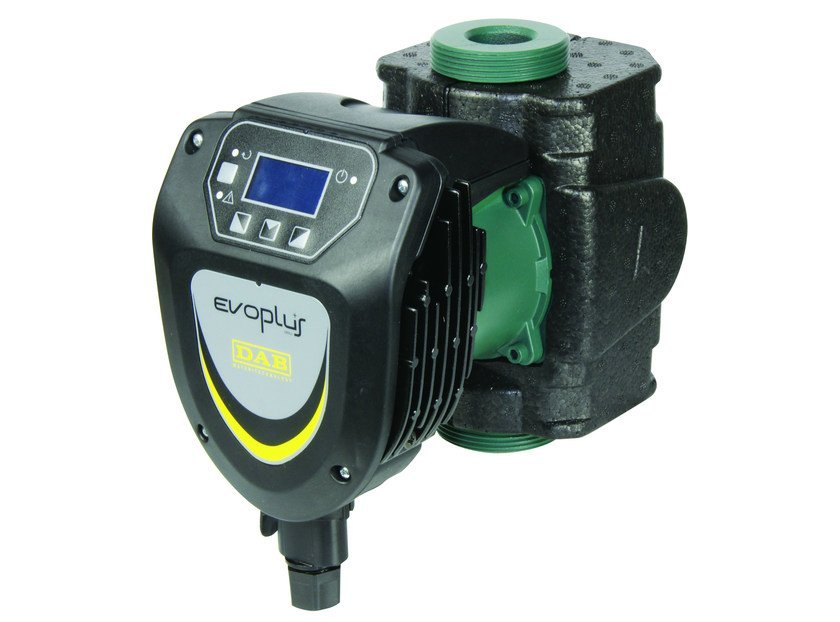 Electronic circulator for small community heating EVOPLUS SMALL by Dab Pumps