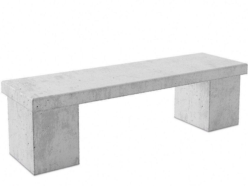 Concrete Bench Braga Street Furniture Collection By Acl
