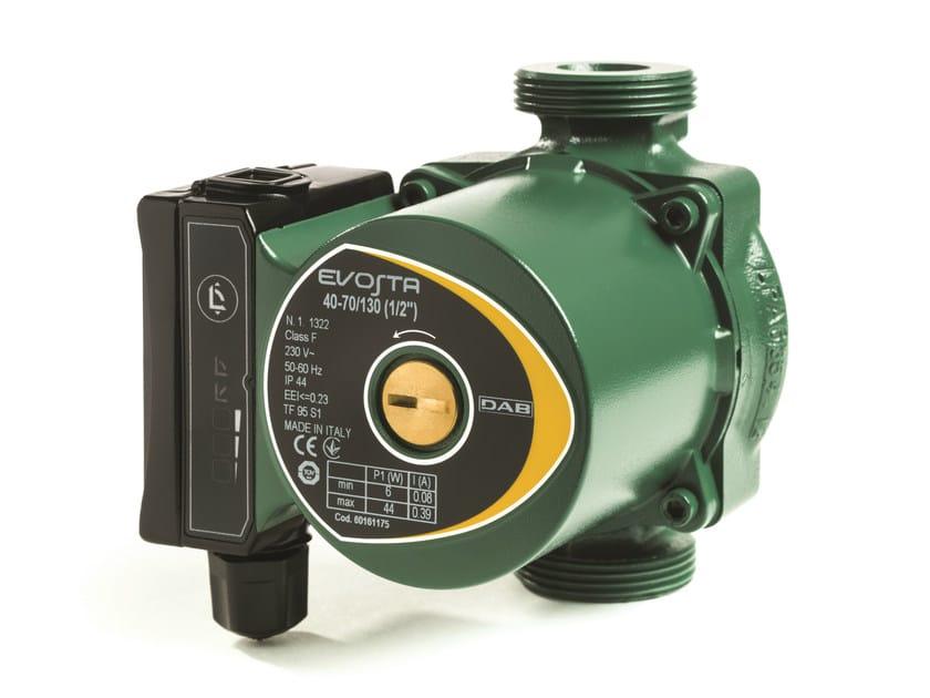 Wet rotor electronic circulators EVOSTA by Dab Pumps