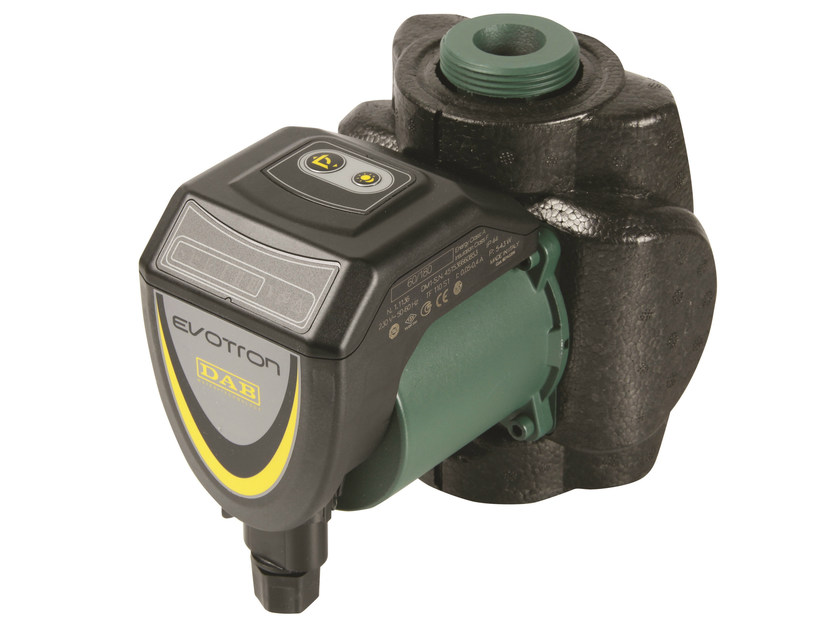 Wet rotor electronic circulators EVOTRON by Dab Pumps