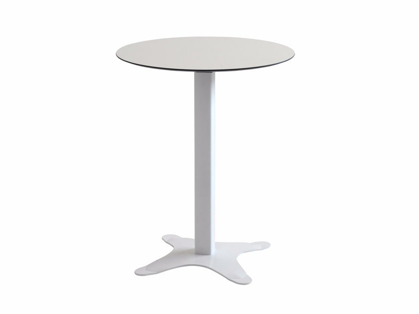 Folding round table EX 517R by Metalmobil