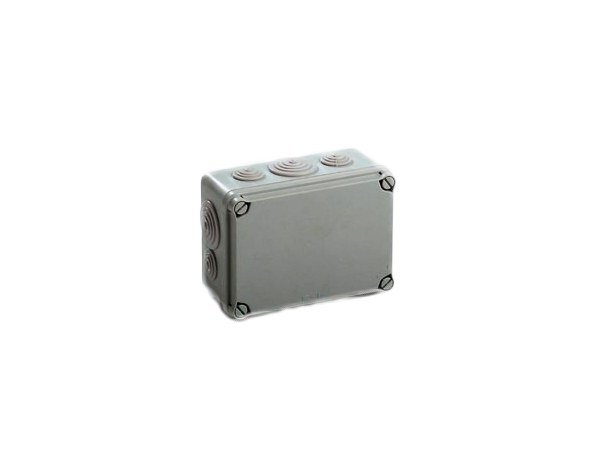 Junction Box with pre-moulded cable entries 130 X 176 X 76 IP67 ENCLOSURE by Garo