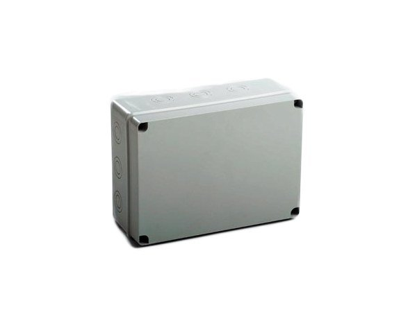 Junction Box with pre-moulded cable entries 253 X 342 X 129 IP67 ENCLOSURE by Garo