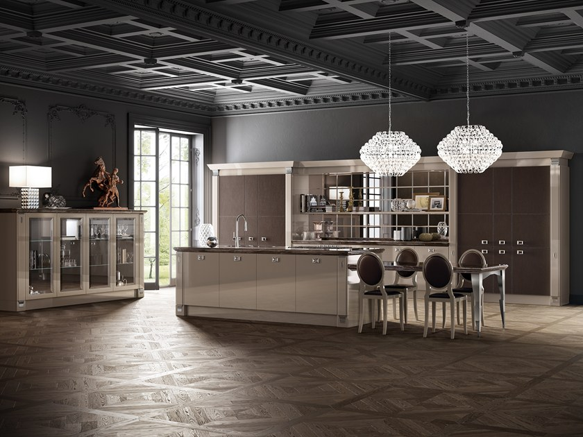 Fitted kitchen EXCLUSIVA by Scavolini