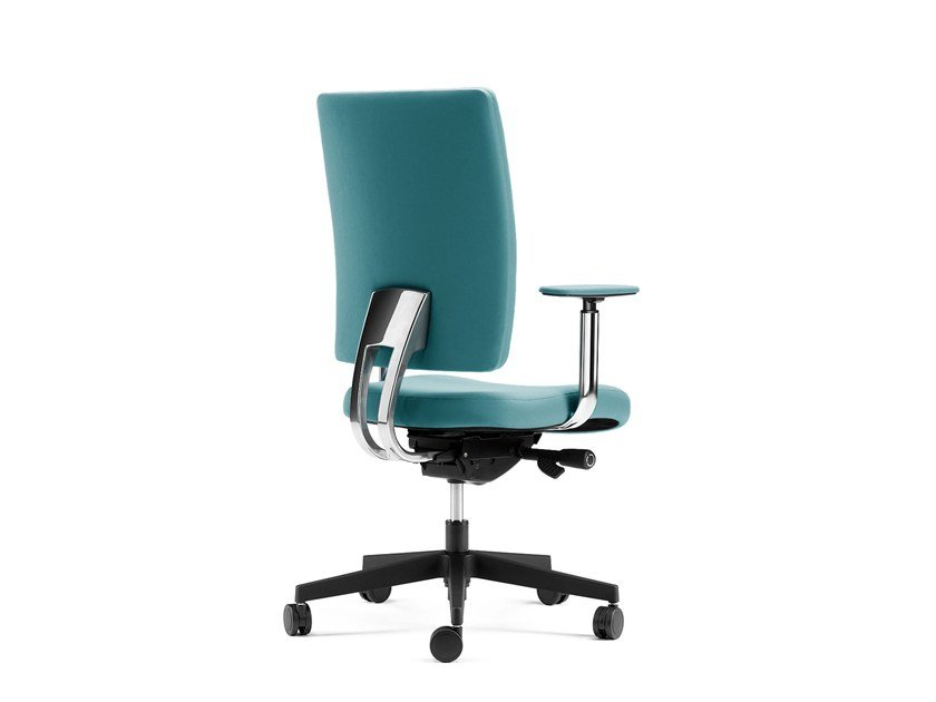 Executive chair with 5-spoke base with armrests PROGRESS | Executive chair by Arte & D