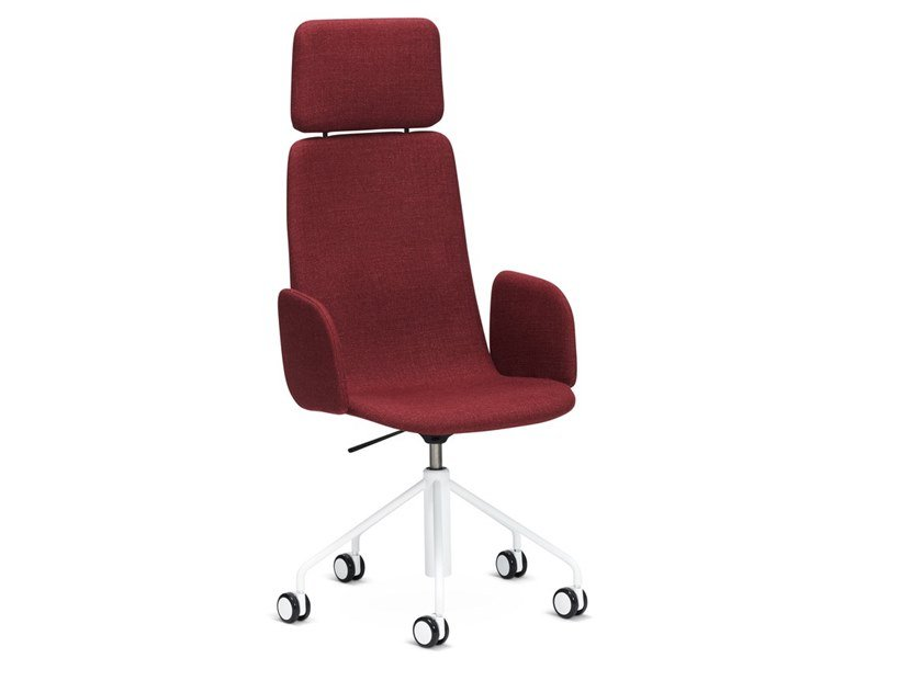 Swivel high-back fabric executive chair SOLA | Executive chair by Martela