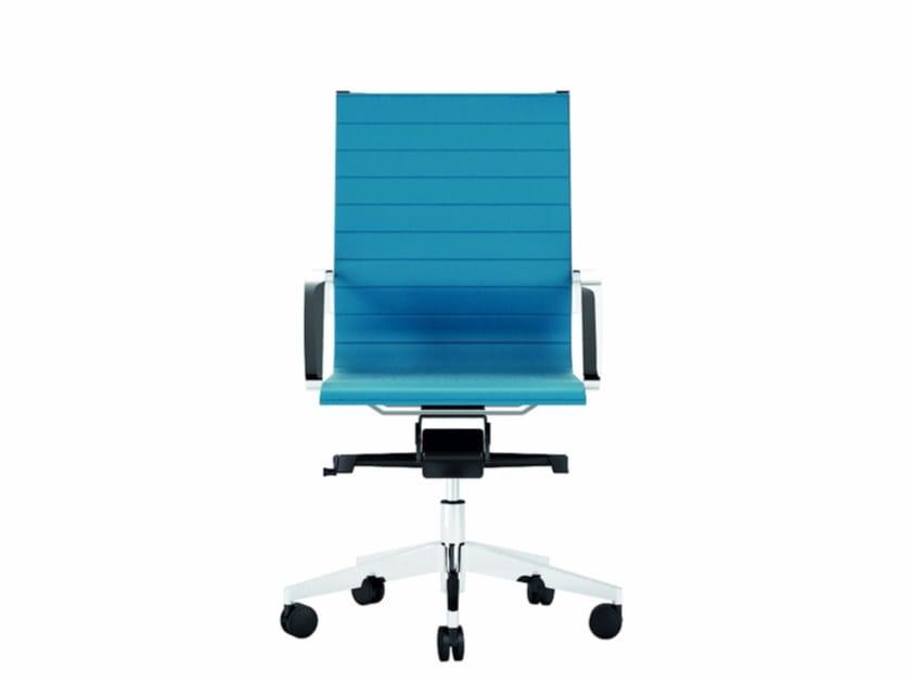 Medium back executive chair DIVA SOFT   Executive chair by Quadrifoglio