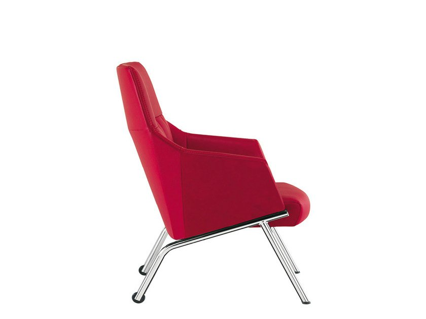 Leather executive chair DAMA STRIP | Executive chair by Sesta
