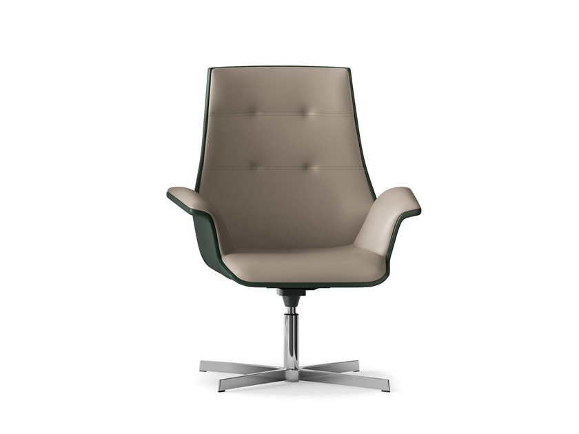 Medium back executive chair with 4-spoke base MAXIMA | Executive chair with 4-spoke base by Arte & D