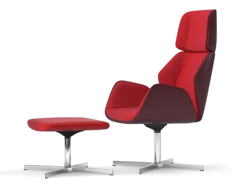 Swivel executive chair with 4-spoke base HAIKU   Executive chair with 4-spoke base by Arte & D